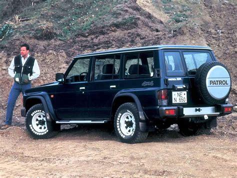 nissan patrol 1990 interior nissan patrol iv y60 suv 5 doors exterior interior