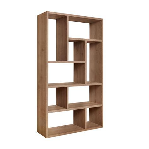 libreria in legno libreria in legno olmo naturale coincasa