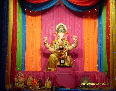 eco friendly ganpati decorations interior design ideas