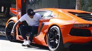 Chris Brown Lamborghini Cars Chris Brown In Lamborghini Aventador