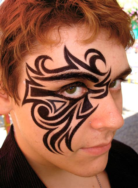 tribal tattoo eyes 10 tribal eye tattoos only tribal