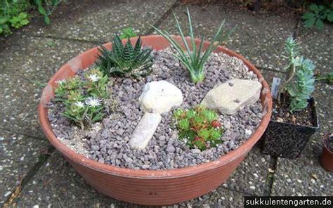 mini steingarten