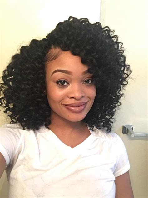 wands short hairstyles and curls on pinterest precurled crochet braids freetress ringlet wand curl