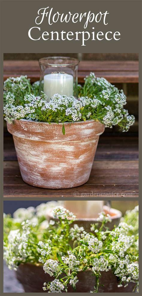 wedding flower pot centerpiece ideas 94 best back yard weddings and images on