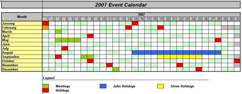 work holiday planner excel new calendar template site
