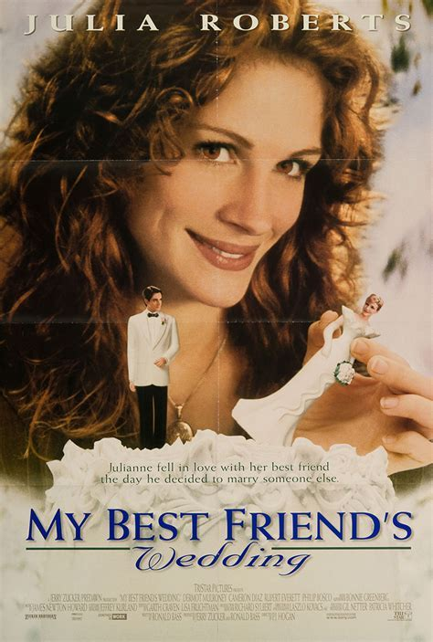 My Best Friend?s Wedding 1997 Original Movie Poster #FFF