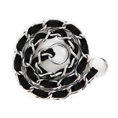 comfort chain dog collar petmate comfort chain training collar