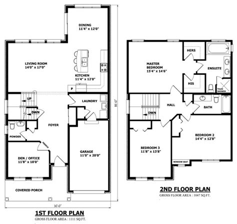 floor plans and elevations click to enlarge canadian home designs custom house plans stock house