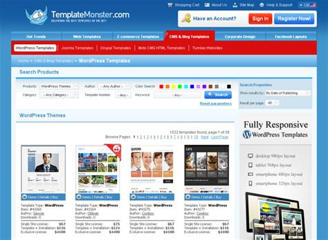 Free Website Giveaway - giveaway 3 awesome templates from templatemonster web