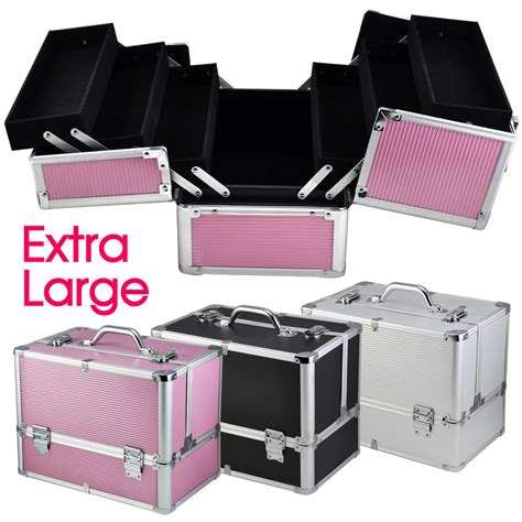 Make Up Box large space storage box make up jewelry cosmetic vanity 3color ebay