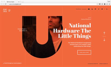 bid websites 17 websites with typography driven design design bombs