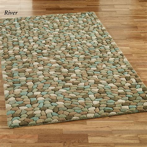 are rug pebble area rugs