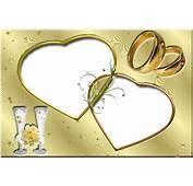 Free Wedding Backgrounds /frames  Frame Gold Love Photo