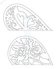 easy card template for paper cutting easy paper cutting patterns the top one has the