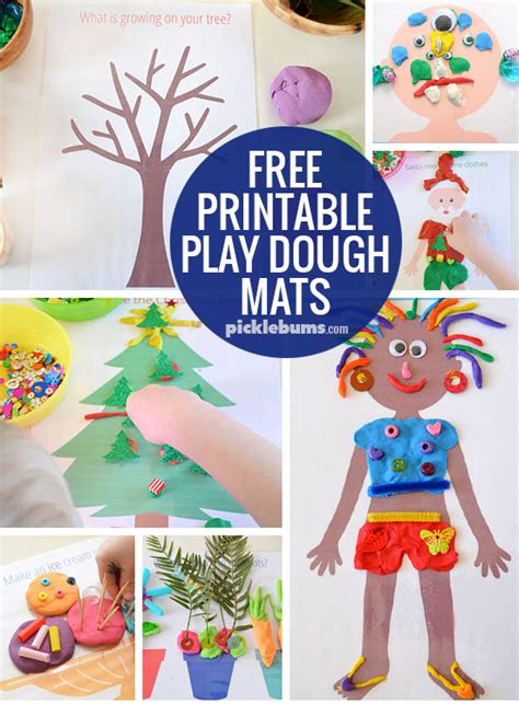 new year playdough activities fabulous free printable play dough mats picklebums