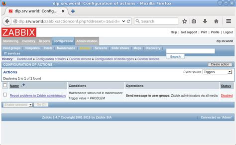 Dimo 16 Email Notification Template Set Access ubuntu 16 04 lts zabbix notification email setting server world