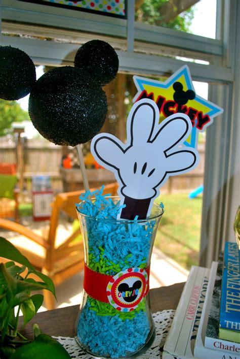 1000 ideas about mickey centerpiece on mickey