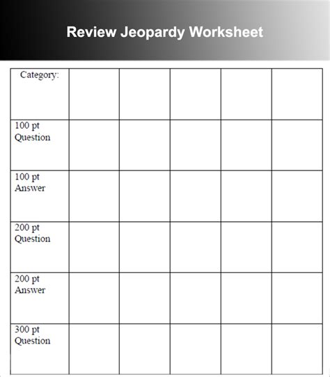 7 Jeopardy Powerpoint Templates Free Ppt Designs Printable Jeopardy