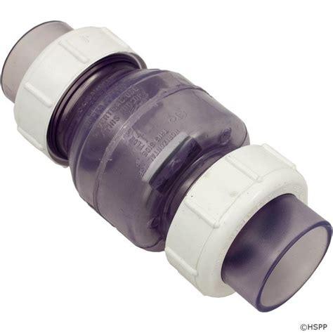 pvc swing check valve flo 2 quot true union clear pvc swing check valve socket ebay