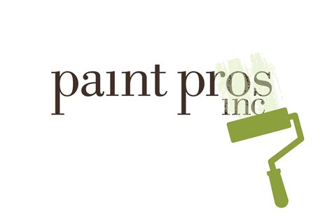 paint logo paint pros logos by stef king design