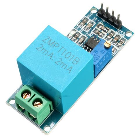 Kr08194 Zmpt101b Ac Voltage Sensor Module electronics sensors voltage current 2ma single