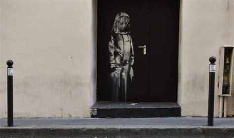 banksy stolen bataclan mural   italy colston