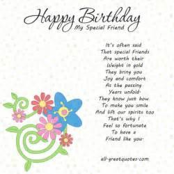 special friend birthday quotes quotesgram