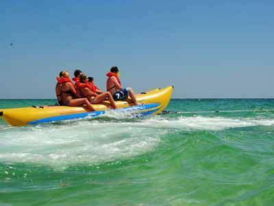 waverunner excursion parasailing or banana boat ride - Banana Boat Ride Siesta Key
