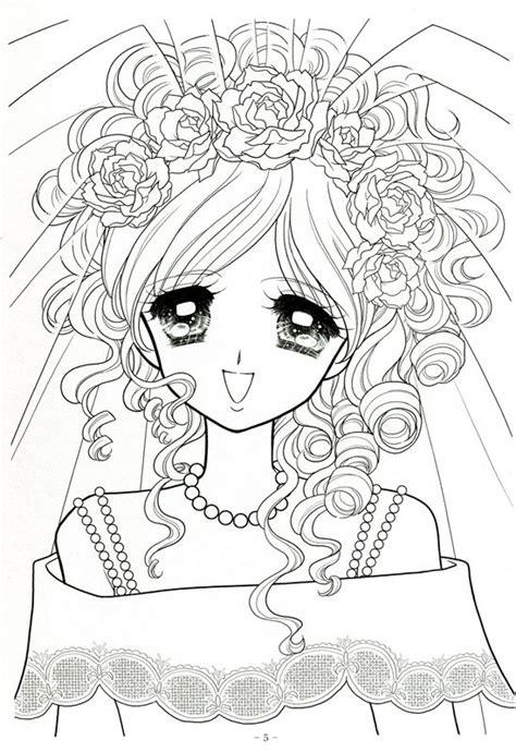 Ideen Zum Ausmalen 317 by Japanese Shoujo Coloring Book 3 Picasa Web