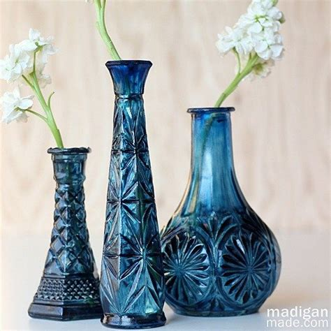 best 25 painted glass vases ideas on diy