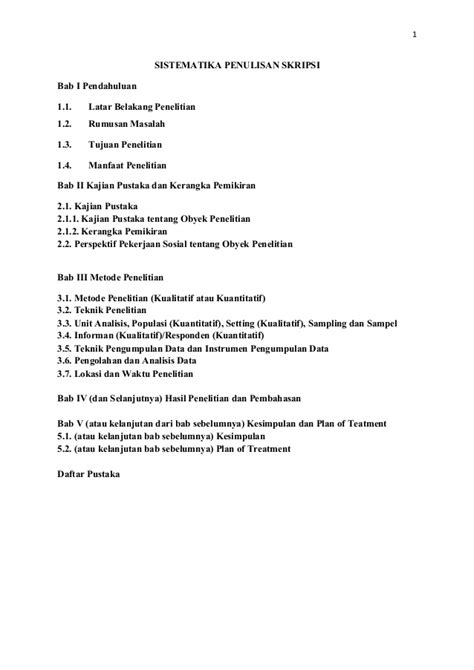 format skripsi sastra inggris bab 1 kumpulan laporan