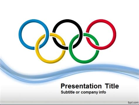 Olympic Ppt Best Sports Powerpoint Templates Powerpoint Presentation