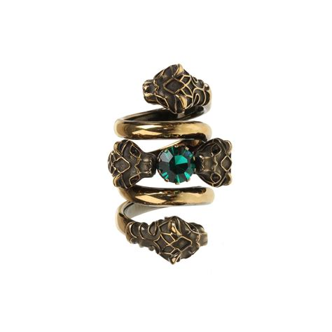 gucci ring in gold lyst