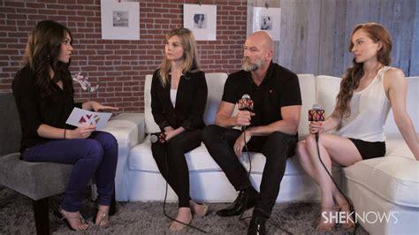 celebrity interviews cast of starz s outlander talk new series celebrity
