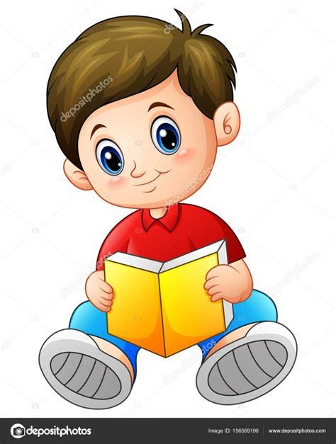 imagenes de niños jugando y leyendo dibujos animados de ni 241 o leyendo un libro vector de