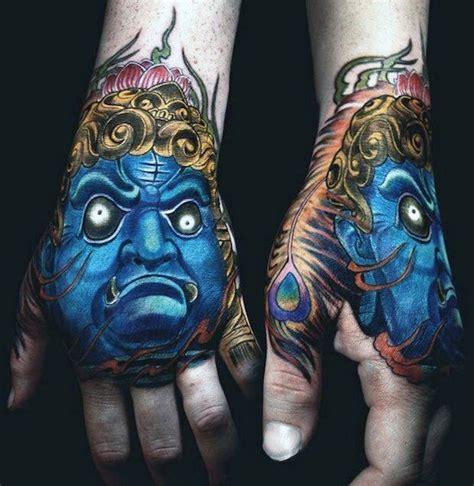 oriental tattoo hand top 50 best hand tattoos for men fist designs and ideas