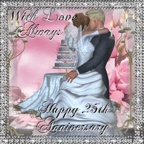 Silver Anniversary Wishes Free Milestones by With Happy 25th Anniversary Free Milestones Ecards