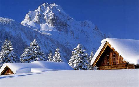 imagenes de invierno con nieve wallpapernarium bellas caba 241 as de invierno cubiertas de