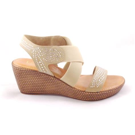 beige wedge sandal lotus beige open toe wedge sandal lotus from