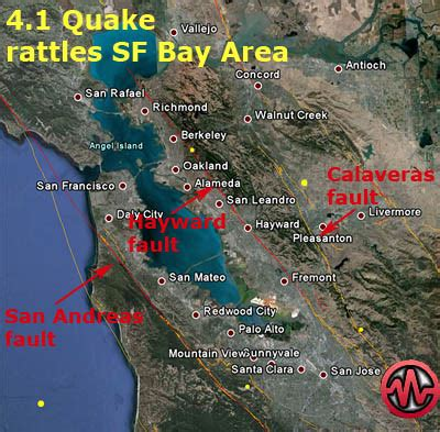 4.1 earthquake rattles nerves in san francisco bay area