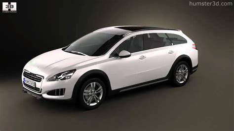 peugeot model 2013 peugeot 508 rxh 2013 by 3d model store humster3d com