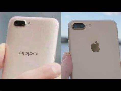 oppo r11 plus vs apple iphone 7 plus comparison youtube