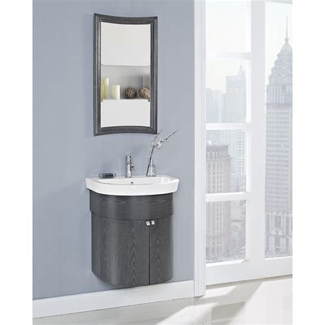 curved bathroom vanity fairmont designs boulevard 24 quot curved wall mount vanity