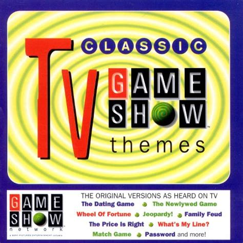 theme to definition game show classic tv game show themes various artists songs