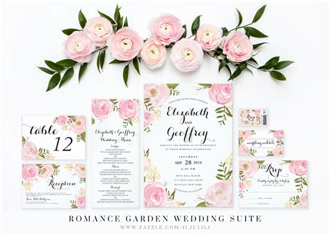 Floral Wedding Invitations by The Best Loved Floral Wedding Invitations Theruntime