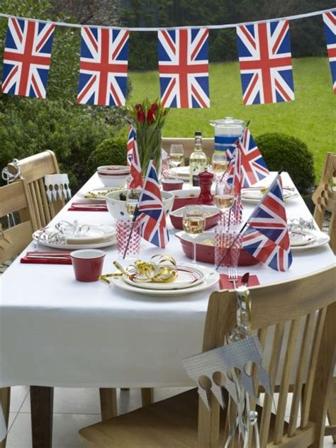 themed party decorations uk 96 best british or union jack theme party images on