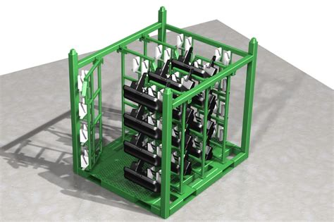 davco industries returnable shipping racks