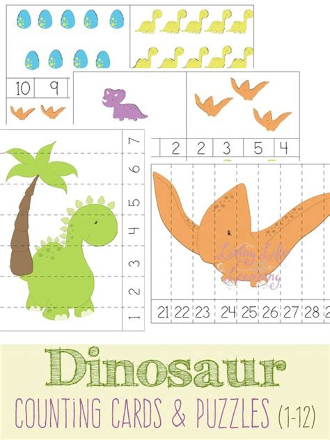free printable dinosaur number cards 17 best images about back to pre school dinosaurs on