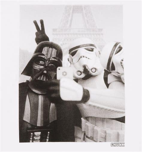 Selfie T Shirt White s white stormtrooper and darth vader selfie wars