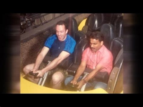 theme song lucky man man brings his taxi driver to theme park after finding out